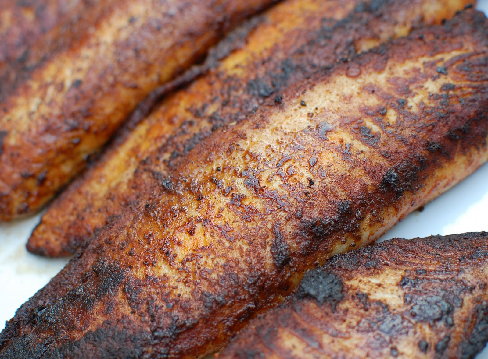Blackened redfish iron mike magazine for Red fish recipe