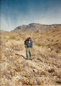 Me in Big Bend, 1993.
